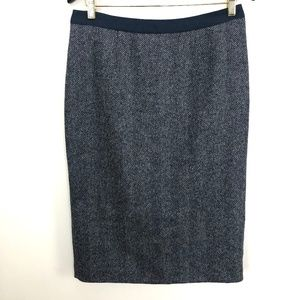 Boden British Tweed by Moon Skirt US 8L UK 12L